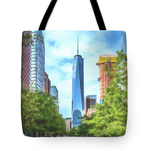 Liberty Tower Tote Bag