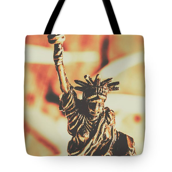 Liberty Will Enlighten The World Tote Bag