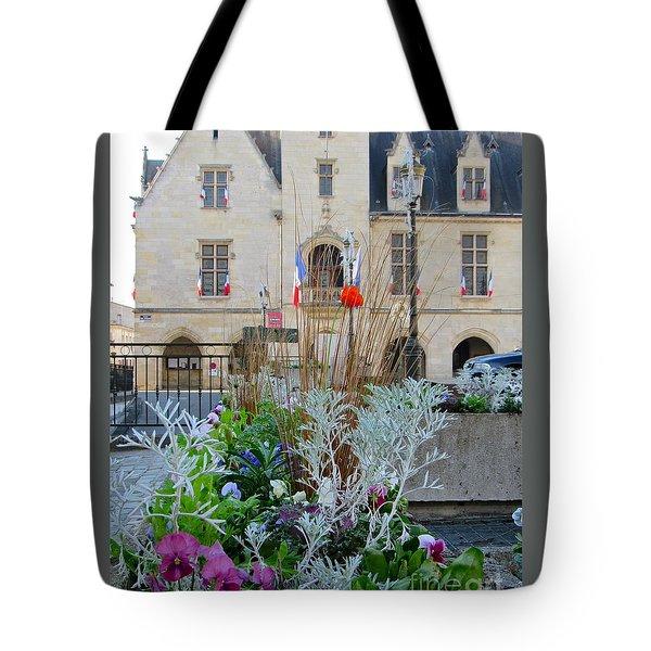 Libourne Town Hall Tote Bag