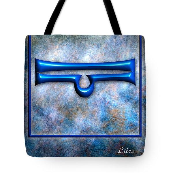 Libra  Tote Bag by Mauro Celotti