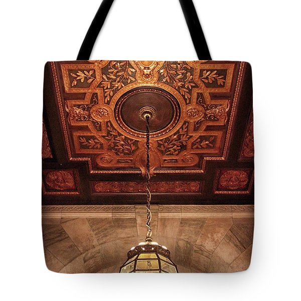 Tote Bag featuring the photograph Library Light by Jessica Jenney