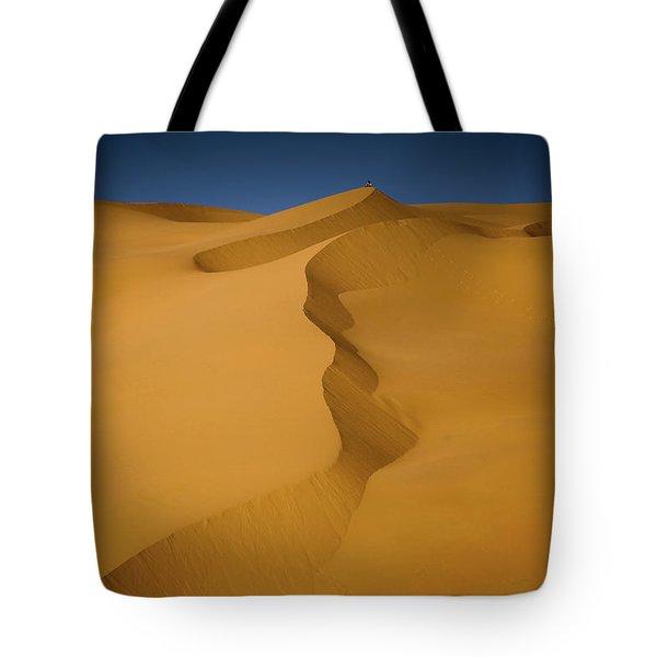 Libya Dunes Tote Bag