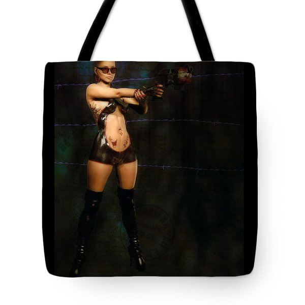 Licenced To Kill Tote Bag by Maynard Ellis