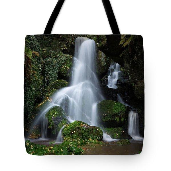 Lichtenhain Waterfall Tote Bag