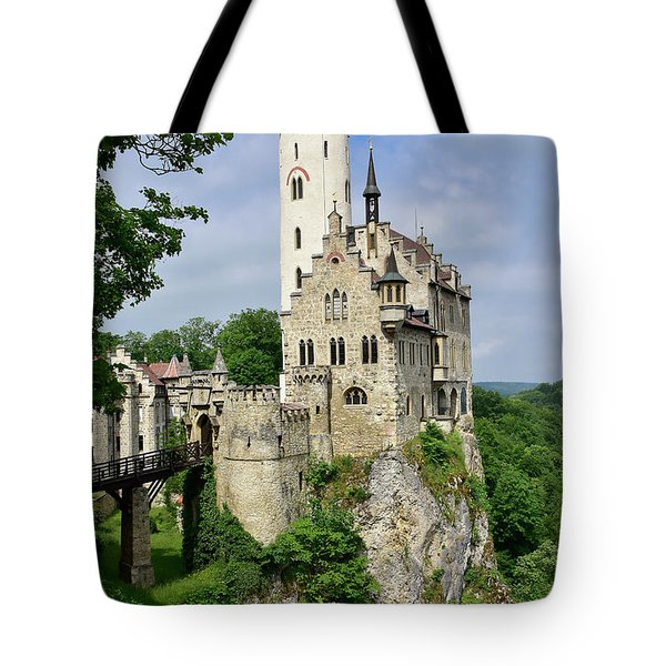 Lichtenstein Castle Tote Bag