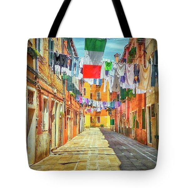 Lido Morning Canvas Tote Bag