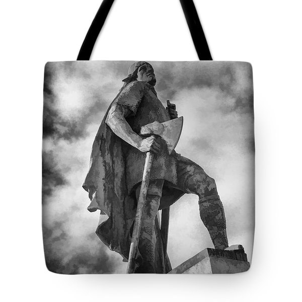 Tote Bag featuring the photograph Lief Ericsson Reykjavik by Rick Bragan