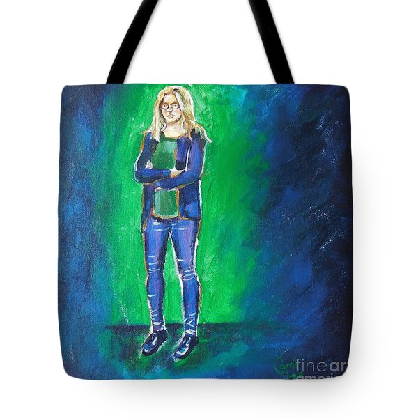 Liesbeth- Painting Class Model Tote Bag
