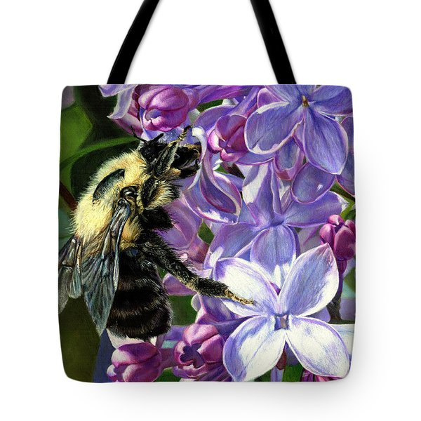 Life Among The Lilacs Tote Bag
