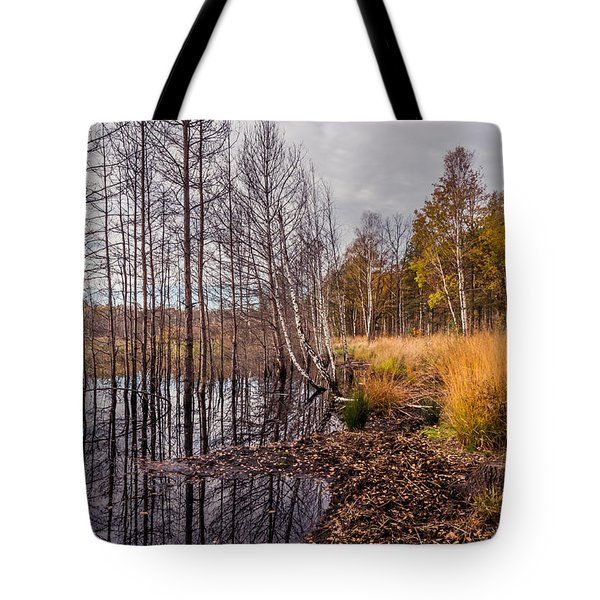 Tote Bag featuring the photograph Life And Death by Dmytro Korol