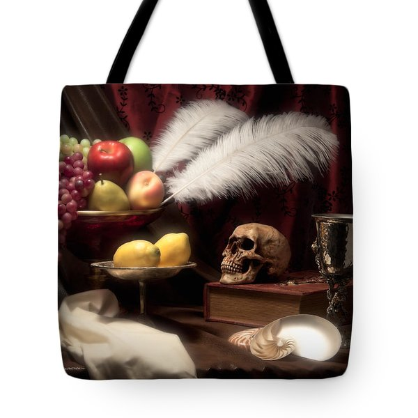 Life And Death In Still Life Tote Bag