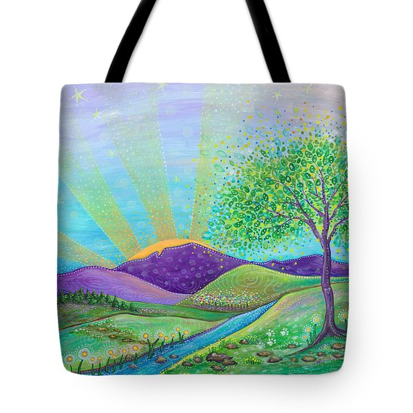 Tote Bag featuring the painting Love And Life by Tanielle Childers
