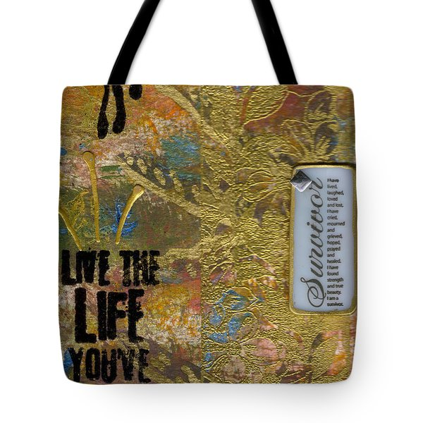 Life As You Imagined It Tote Bag by Angela L Walker
