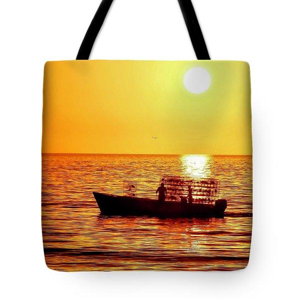 Life At Sea Tote Bag