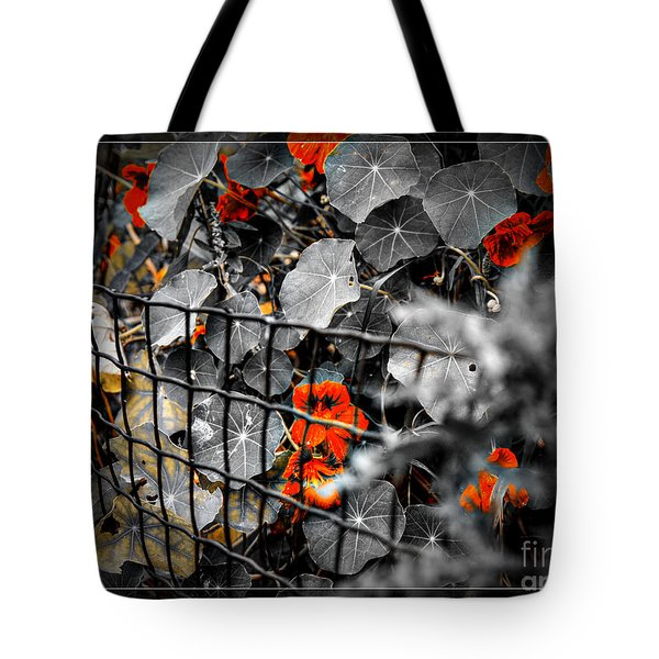 Life Behind The Wire Tote Bag