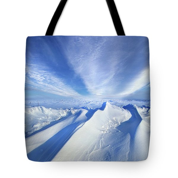 Tote Bag featuring the photograph Life Below Zero by Phil Koch