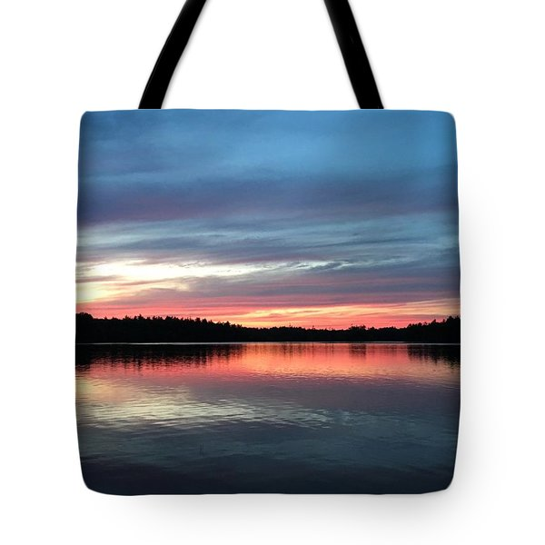 Tote Bag featuring the photograph Life Beside A Lake by Cindy Charles Ouellette