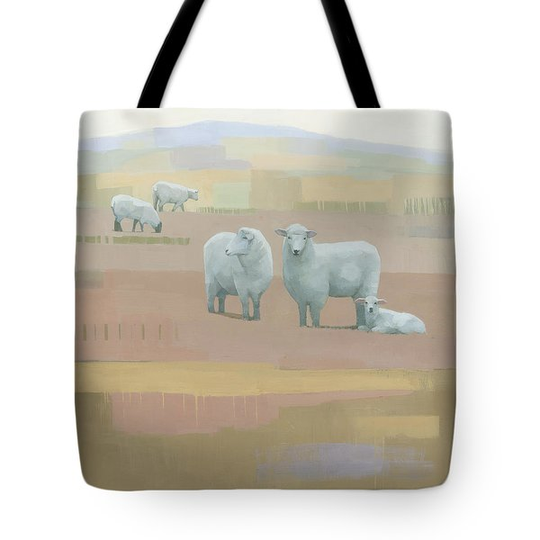 Life Between Seams Tote Bag by Steve Mitchell