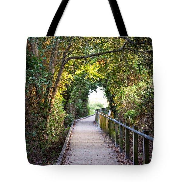 Life Beyond The Path Tote Bag