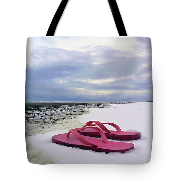 Life Can Be A Beach  Tote Bag