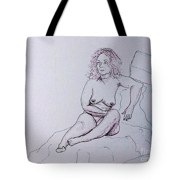 Life Drawing Nude Tote Bag