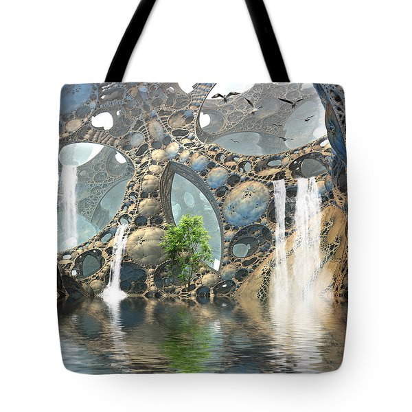 Life Finds A Way Tote Bag