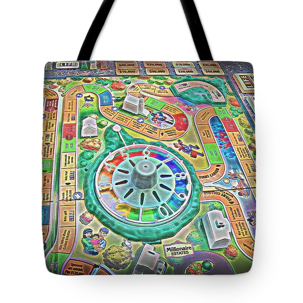 Life Game 7 - Painterly Tote Bag