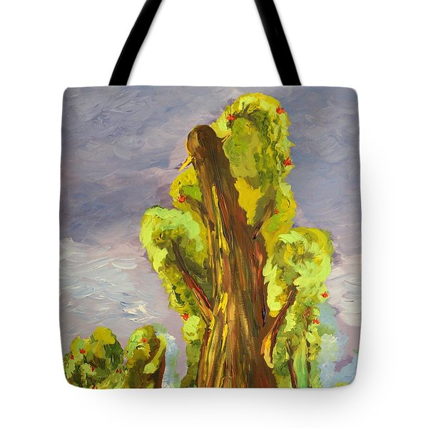 Tote Bag featuring the painting Life by Geeta Biswas