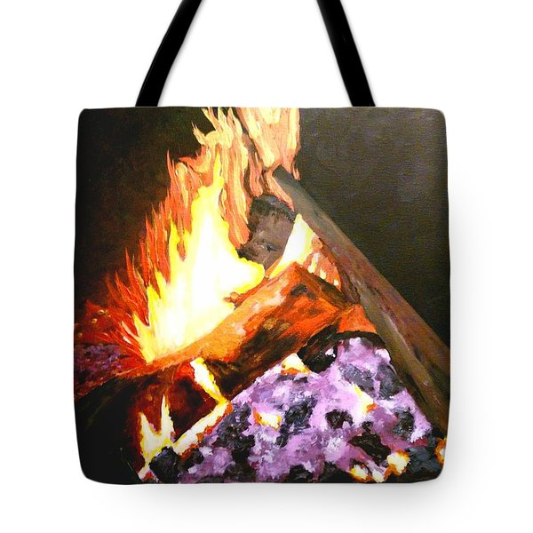 Life Goes On Tote Bag