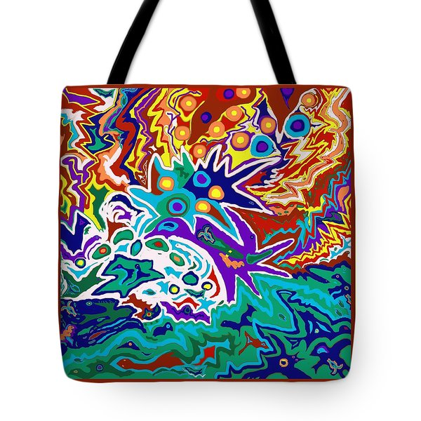 Life Ignition Option 2 With Borders Tote Bag