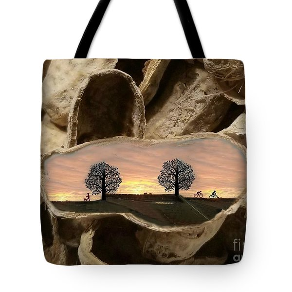 Life In A Nutshell Tote Bag