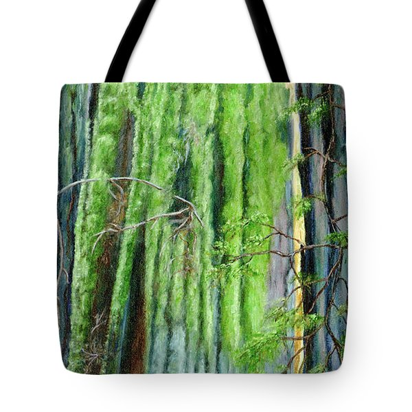 Life In A Redwood Forest Tote Bag