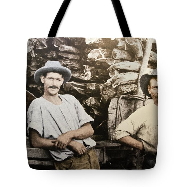 Tote Bag featuring the photograph Life In Australia 1901 To 1914 by Miroslava Jurcik