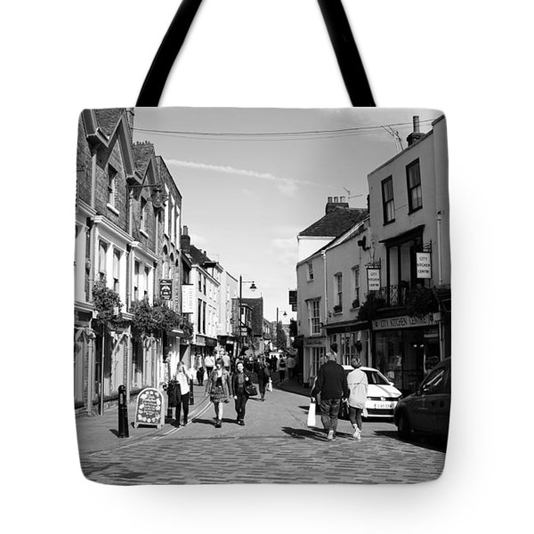 Life In Canterbury Tote Bag