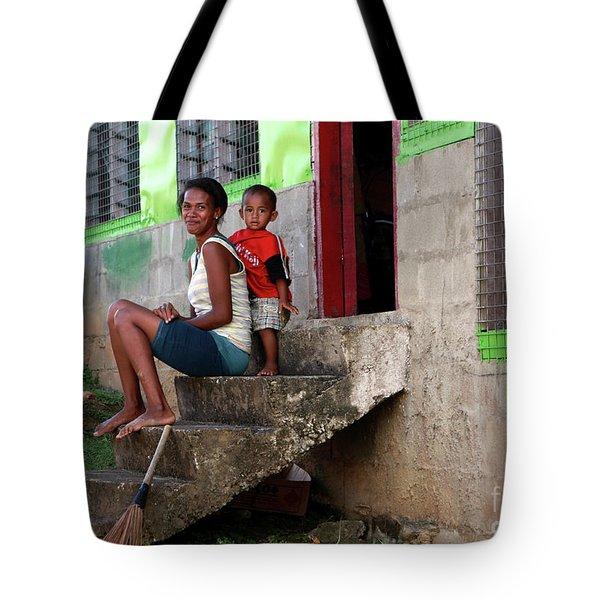 Life In Nagara Fiji Tote Bag