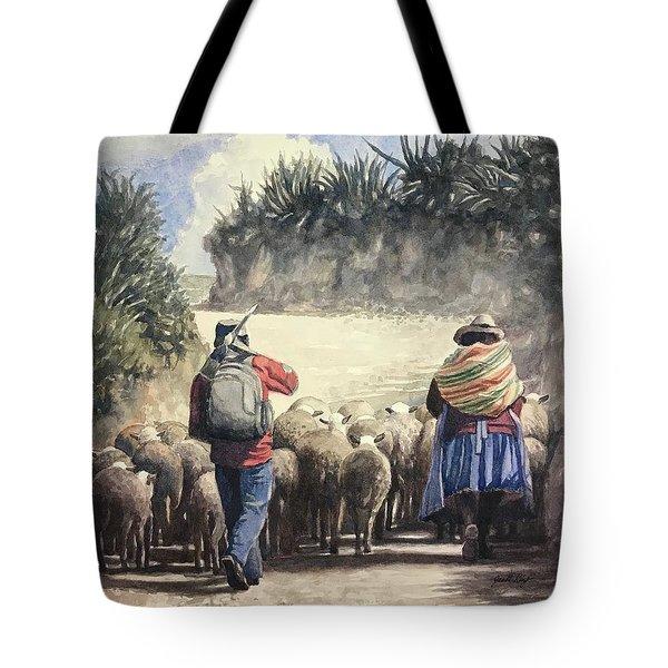 Life In Peru Tote Bag