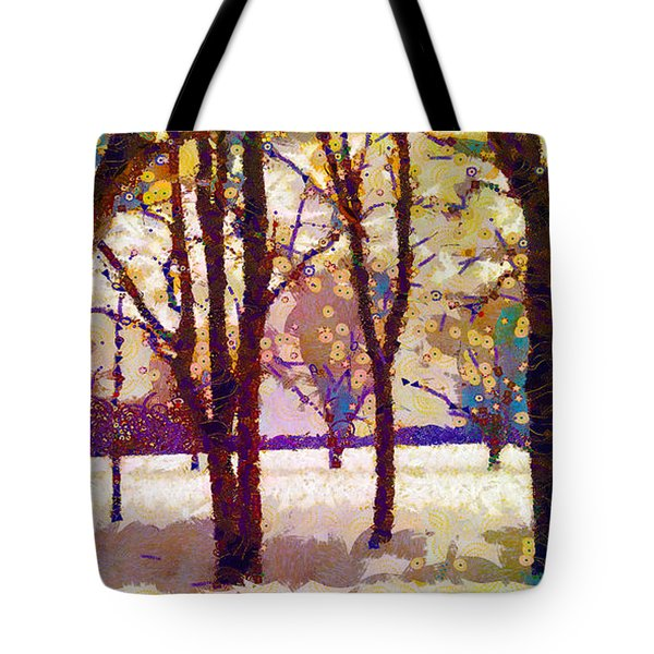 Life In The Dead Of Winter Tote Bag by Gustav James