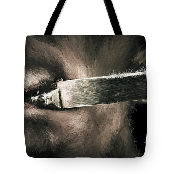 Life In The Knife Trade Tote Bag