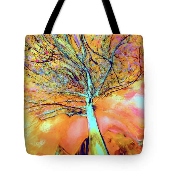 Life In The Trees Tote Bag