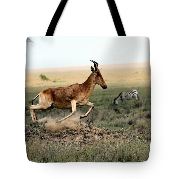 Life In The Wild Tote Bag