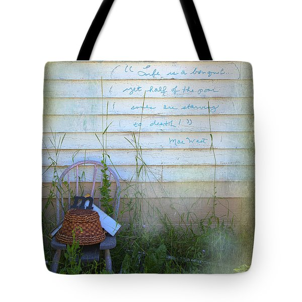 Life Is A Bouquet Tote Bag