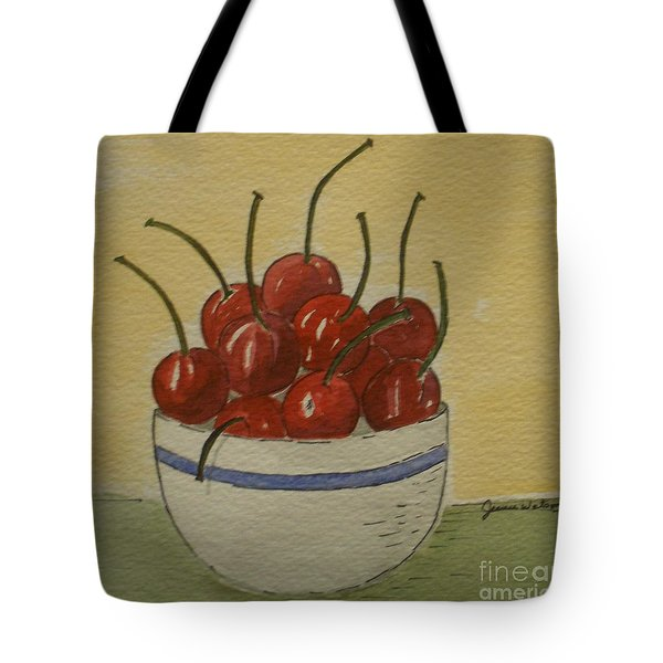 Life Is A Bowl Of.... Tote Bag