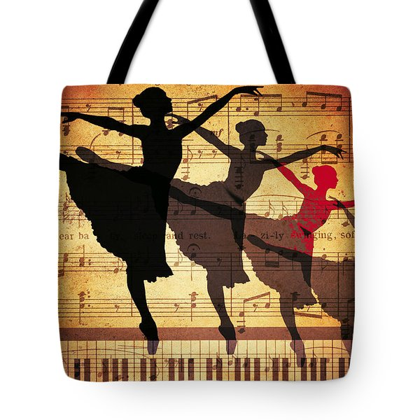 Life Is Music Tote Bag