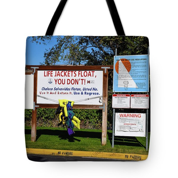 Life Jackets Float Tote Bag