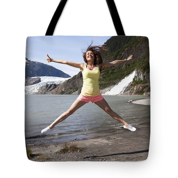Life Joy Tote Bag