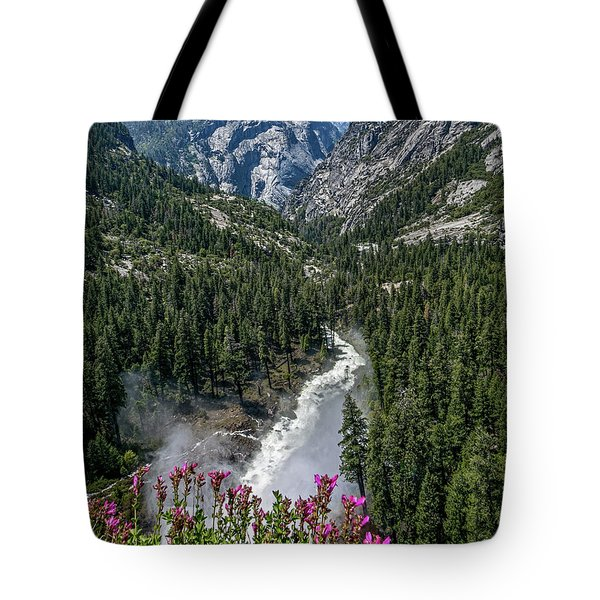 Life Line Of The Valley Tote Bag