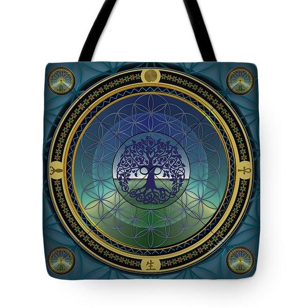 Life Mandala Tote Bag
