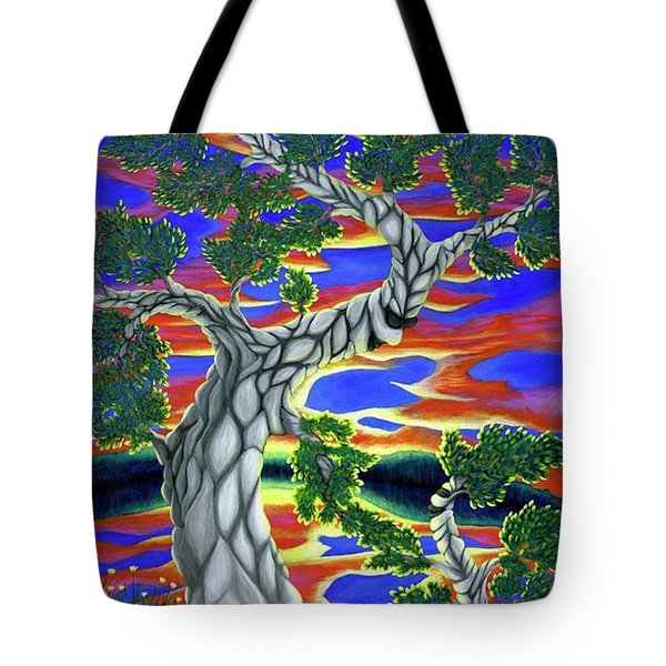 Life Of Trees Tote Bag