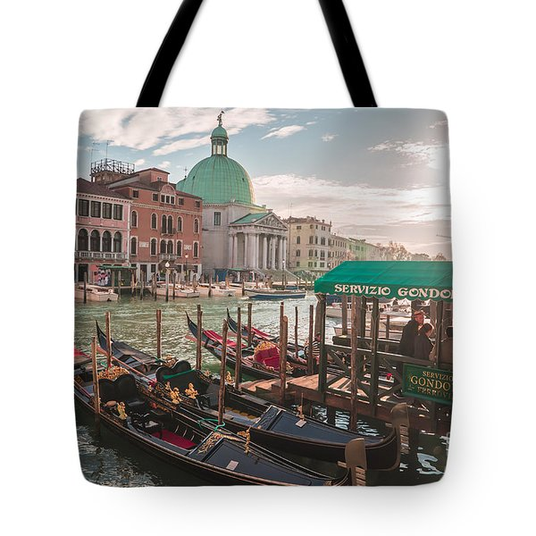 Life Of Venice - Italy Tote Bag