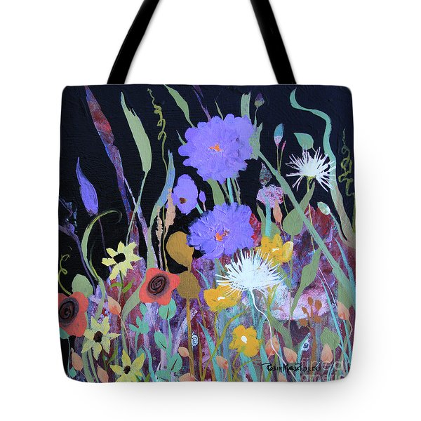 Tote Bag featuring the painting Life On A Summer's Day by Robin Maria Pedrero